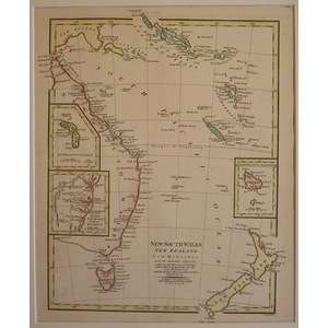 New south wales, new zealand - wilkinson, 1808