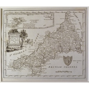 A new map of cornwall