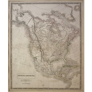 North america - johnston, 1843