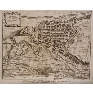 Cony, a strong city of piedmont in th estates of savoy