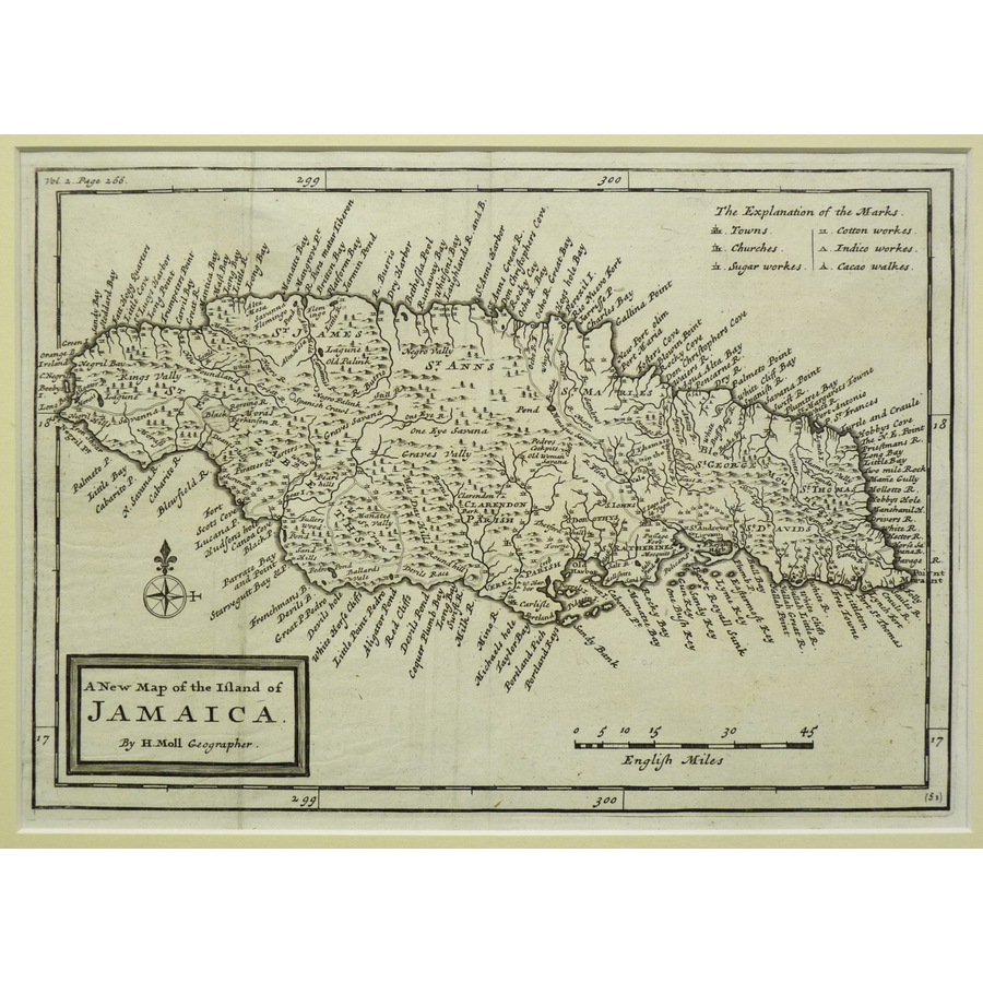 A new map of the island of ja.   Storey's