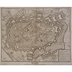 Mons - the capital city of ainault in the low countries
