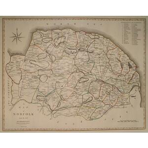 A map of norfolk