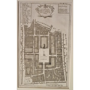 A map of the parish st pauls covent garden