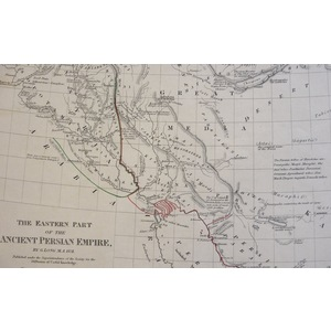 The Eastern Part of the Ancient Persian Empire - Original antique map by G. Long, 1831