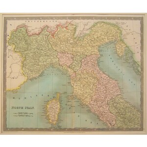 North italy - teesdale, 1834