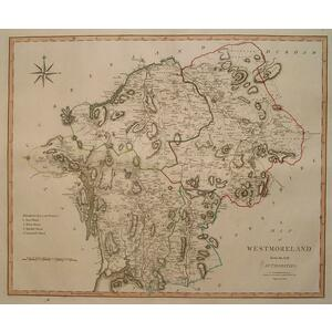 A map of westmoreland