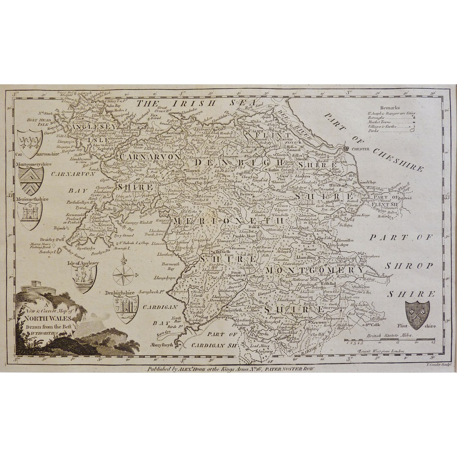 A New and Correct Map of Nort. | Storey's
