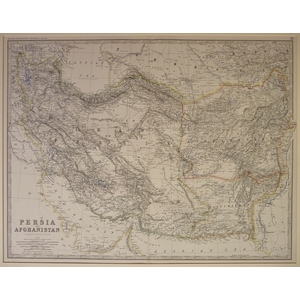 Persia and afghanistan - johnston 1886
