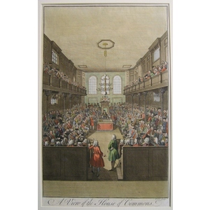A view of the house of commons