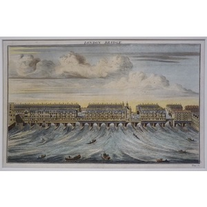 London bridge - matiland, 1755