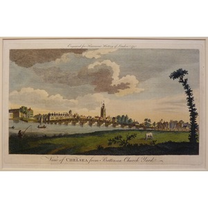 View of chelsea from battersea church street