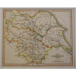 Yorkshire - east riding - j. Cary, 1793