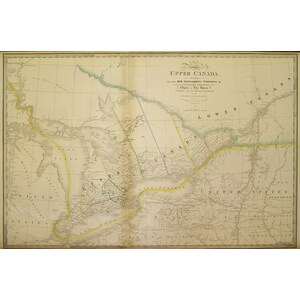 A map of the province of upper canada - j. Wyld