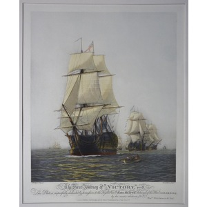 The first journey of the victory, 1778