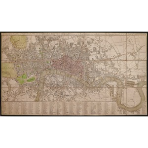 Smiths new plan of london, westminster & southwark