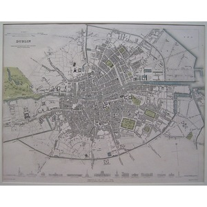 Dublin - city plan