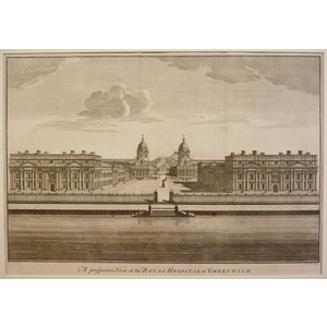 A perspective view of the royal hospital in greenwich