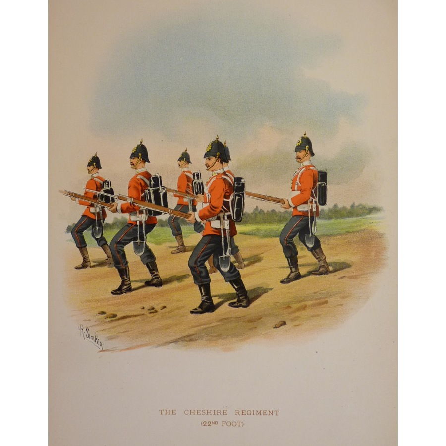The cheshire regiment (22nd f. | Storey's