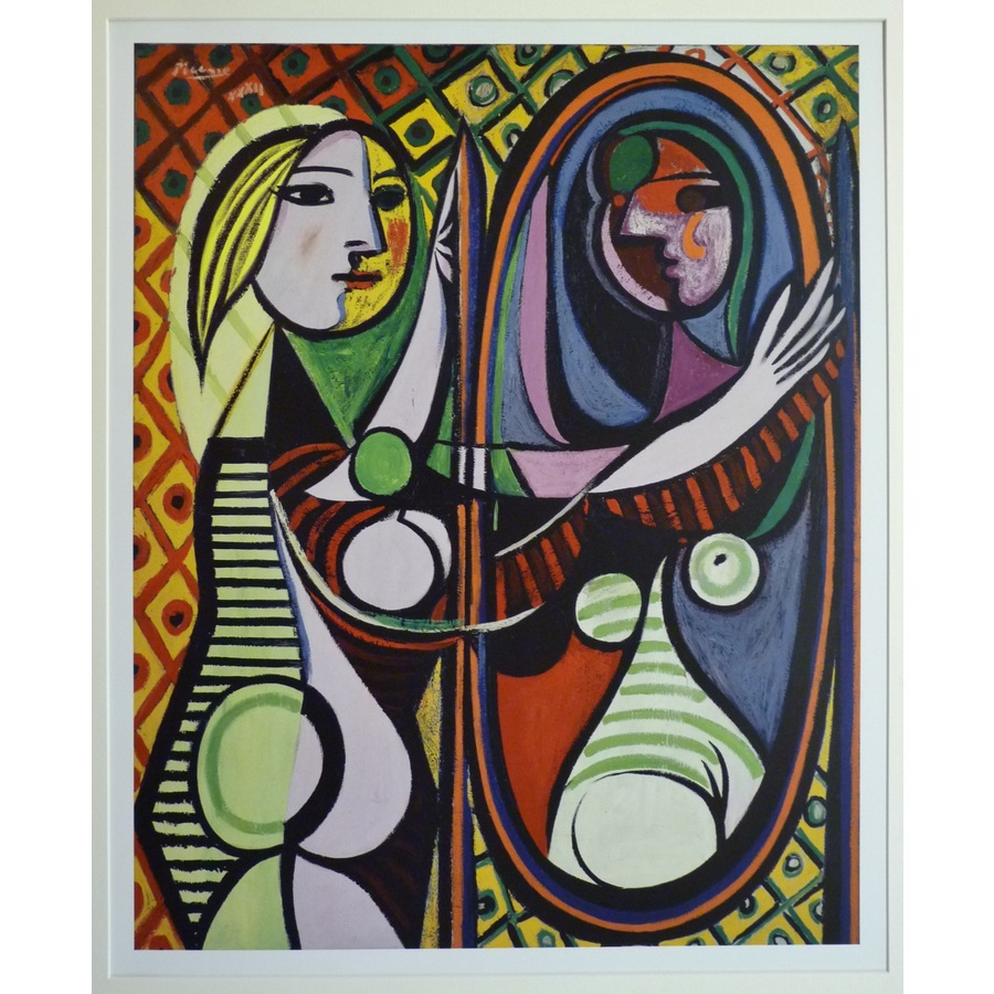 Girl before a mirror - picasso | Storey's