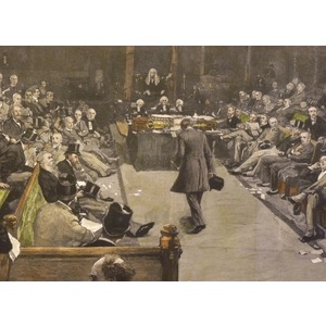 The house of commons at work,. | Storey's