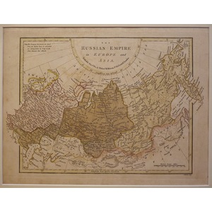 The russian empire in europe and asia - wilkinson, 1808