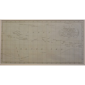 Tahiti or otaheite - a chart of the islands discovered in the neighbourhood