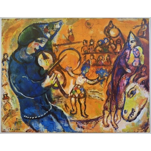 Marc Chagall - Original illustration for the book