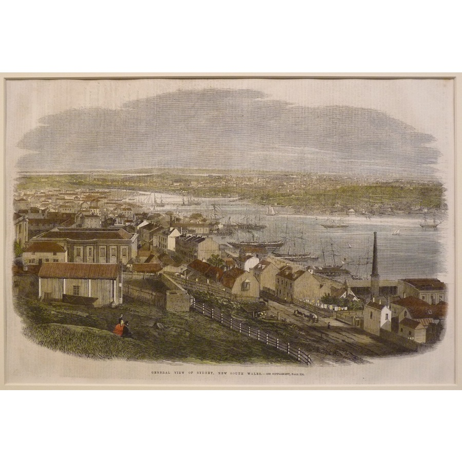 General view of sydney, new s. | Storey's
