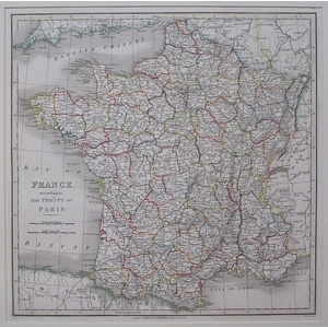 France According to the Treaty of Paris - Smith, 1833