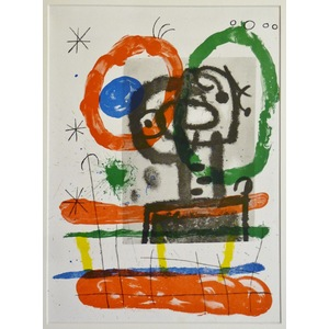Carton no. 3 - Joan miro