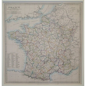 France in Departments - SDUK 1874