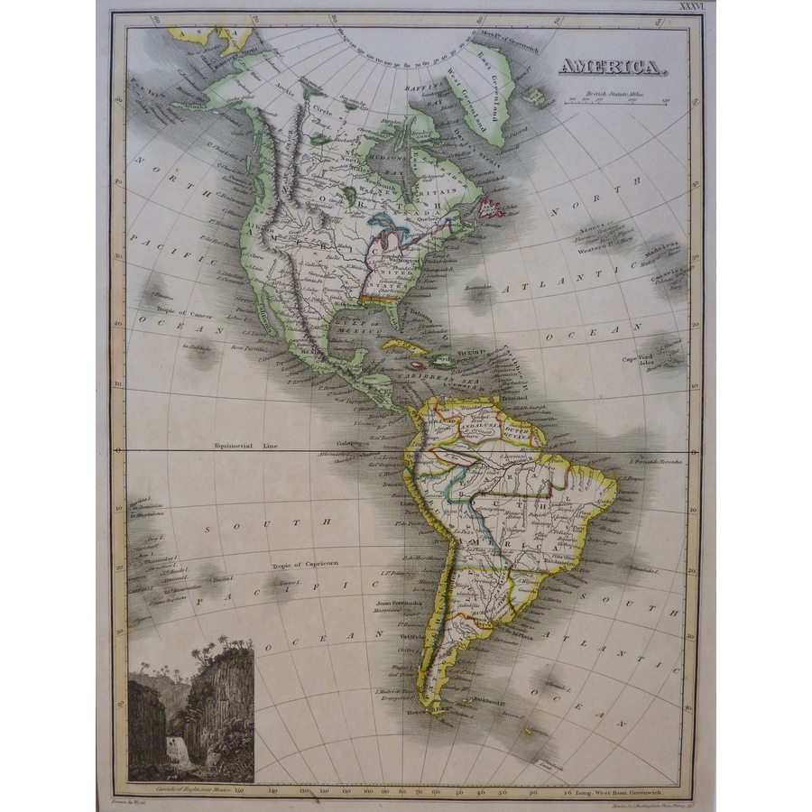 The Americas or America - J. . | Storey's