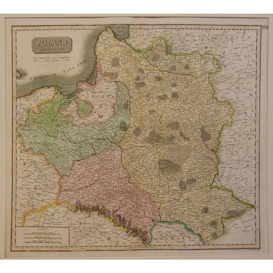 Poland as divided - thomson, . | Storey's