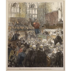 Trial of the detectives at the old bailey: examination of the convict kurr