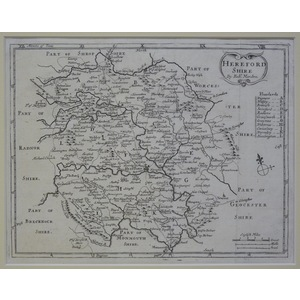 Herefordshire - moll, 1711