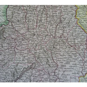 A New Map of Hungary with its Divisions into Gespanchafts or Counties, the Principality of Transy...