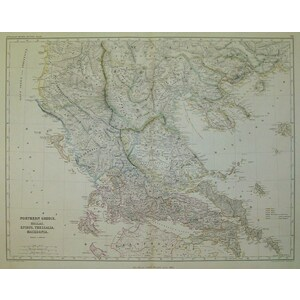 Northern greece - hellas, epirus thessalia, macedonia - smith