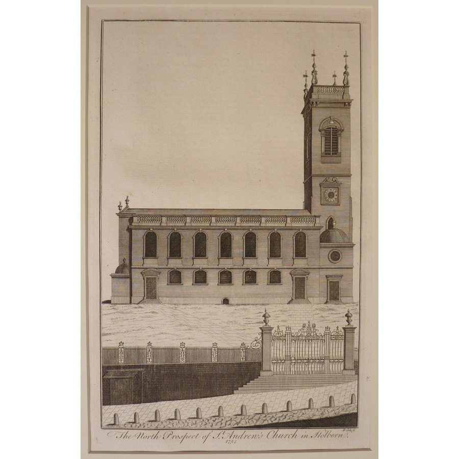 The north prospect of st andr. | Storey's
