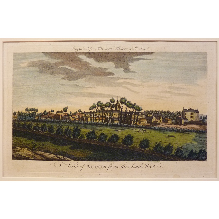 View of acton from the south . | Storey's