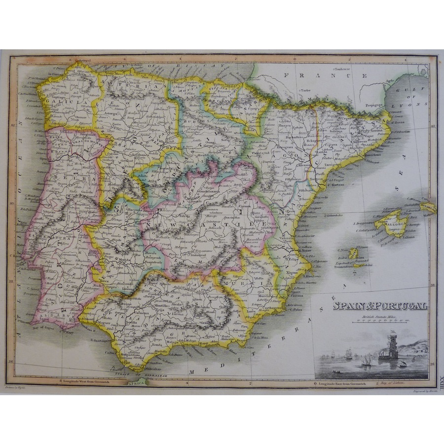 Spain and Portugal - J. Wyld,. | Storey's