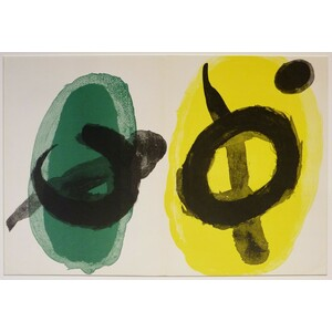 Yellow & green - joan miro