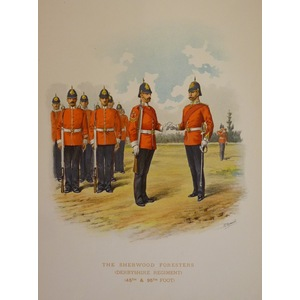 The sherwood foresteres (derbyshire regiment) (45th & 95th foot)