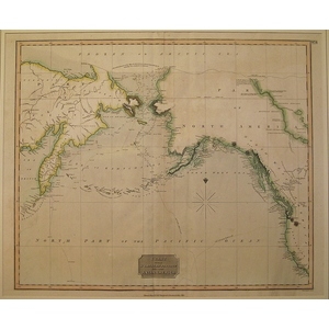 Chart of the northern passage between asia and america - thomson