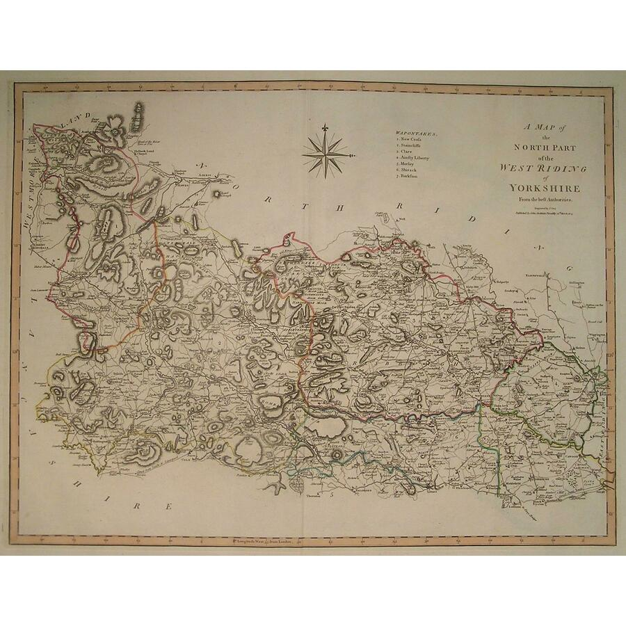 A map of the north part of we. | Storey's