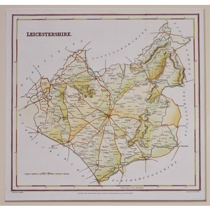Leicestershire - lewis, 1843