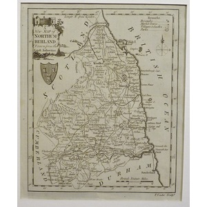 A new map of northumberland