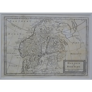 Sweden and norway - moll, 1711