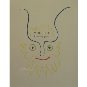 Picasso, Pablo - Original Lithograph - Title page from Prints from the Mourlot Press, 1964.