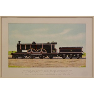 Lancashire and yorkshire railway express locomotive no 1400